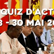 Quiz d'actu : 23 – 30 mai 2016
