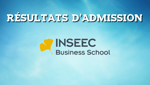 Résultats d'admissions INSEEC 2017
