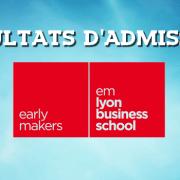 Résultats d'admissions emlyon 2018