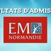 Résultats d'admissions EM Normandie 2017