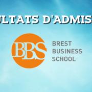 Résultats d'admissions Brest BS 2018