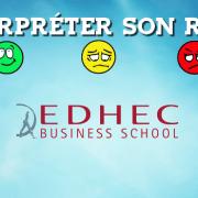 Interpréter son rang EDHEC 2018