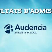 Résultats d'admissions Audencia 2016