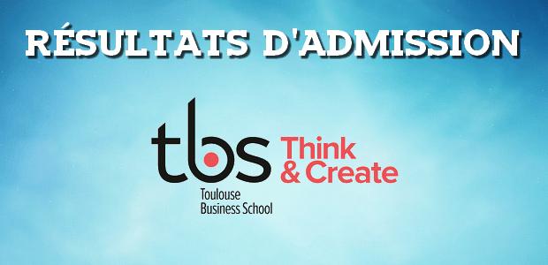 Résultats d'admissions Toulouse BS 2016