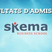 Résultats d'admissions SKEMA 2016