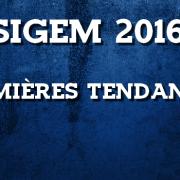 Les premières tendances du SIGEM 2016