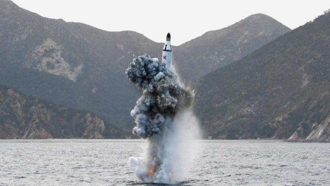 Cette semaine, la Corée du Nord a tiré deux projectiles non identifiés.