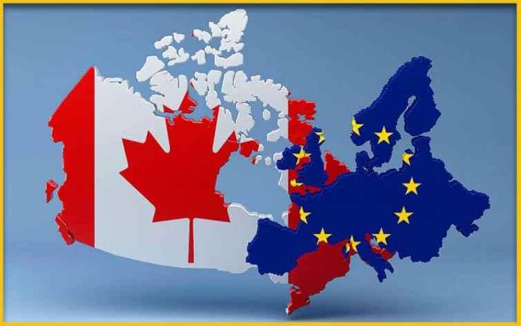 Quand était initialement prévue la signature du CETA ?