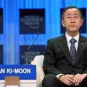 Ban Ki-moon, salut l'artiste !