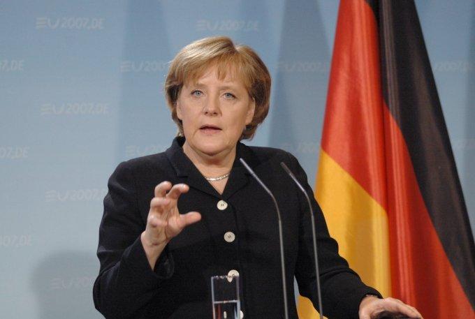 Dans quel pays s'est rendue Angela Merkel le vendredi 3 mars ?