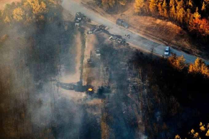 Où se situe le plus grand oléoduc des Etats-Unis qui a fermé le mardi 1er Novembre à la suite d'une explosion ?