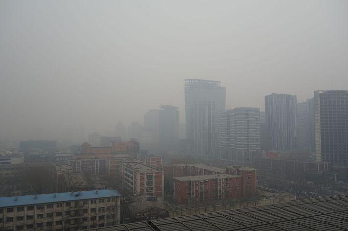 Quelle ville s'est fixée un objectif chiffré afin de réduire la pollution de l'air la semaine passée ?