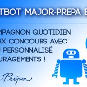 Lancement du chatbot Major-Prépa
