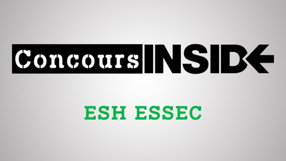 ESH ESSEC 2017 - Sujet