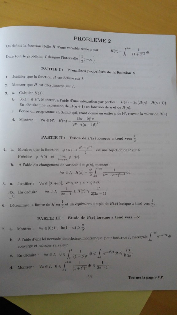 Maths emlyon 2017 - ECS - Page 3