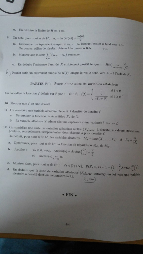 Maths emlyon 2017 - ECS - Page 4