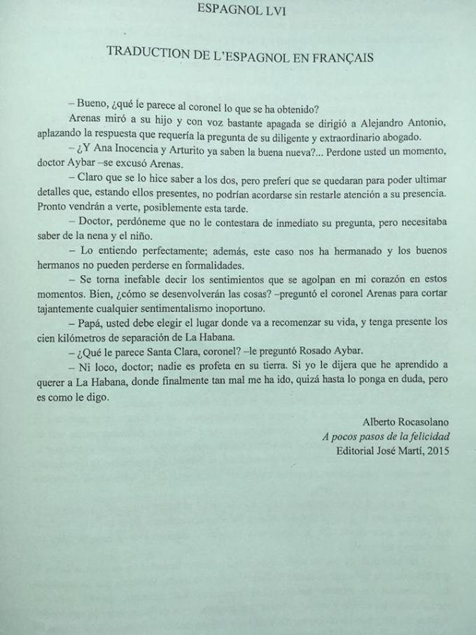 espagnol LV1 1