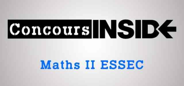 Maths 2 ESSEC 2018 – Sujet