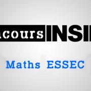 Maths ESSEC 2018 ECS – Sujet