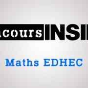 Corrigé du sujet de maths EDHEC 2017 ECE