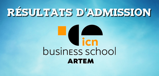 Résultats d'admissions ICN 2017