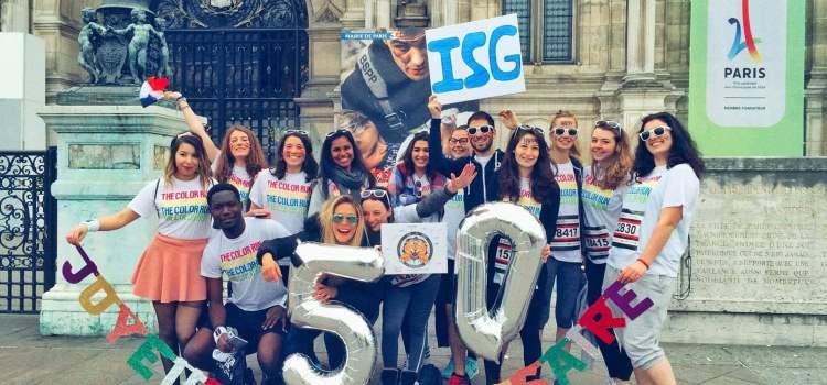 Sens du concret, accompagnement et international ; Welcome to ISG Business School