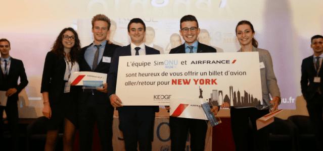 Interview de Léa, vainqueur de SimONU Prépa 2017