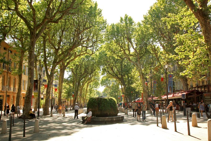 Quel texte la France a-t-elle présenté à Aix en Provence cette semaine ?