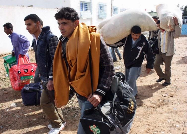 Avec quel pays européen un corridor humanitaire a-t-il été mis en place avec la Libye ?