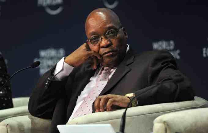 Depuis quand Jacob Zuma était-il au pouvoir en Afrique du Sud ?