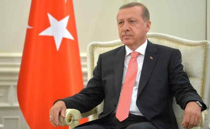 Erdogan s'est rendu...