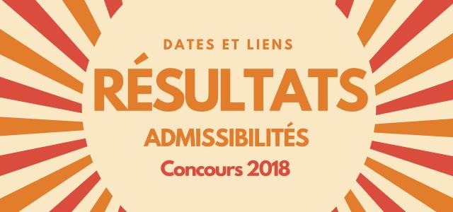Dates et liens des résultats d'admissibilités 2018 – BCE et Ecricome