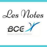 Les notes BCE 2018 sont en ligne !