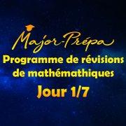 Préparer sa rentrée en mathématiques en 7 jours – Programme spécial carré ! (jour 1/7)