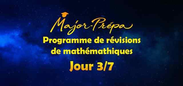 Préparer sa rentrée en mathématiques en 7 jours, programme spécial carré! (Jour 3/7)