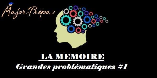 Introduction au thème de la mémoire : grandes problématiques Partie I