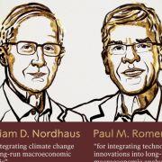Qui sont les nouveaux lauréats du prix Nobel d'économie 2018 ?