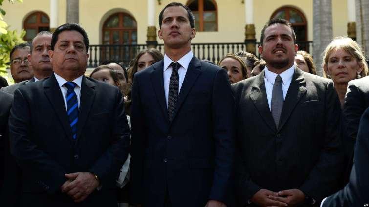 Juan Guaido est venu demander de l'aide en Europe...