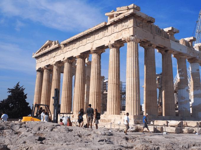 Qui s'est rendu en visite à Athènes cette semaine ?