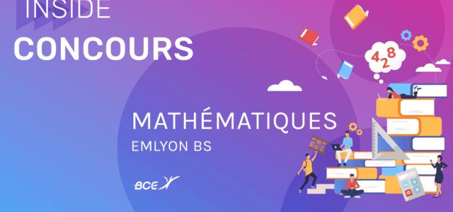 Maths emlyon 2019 ECS – Corrigé