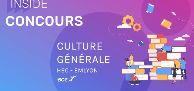 Culture générale HEC / emlyon 2019 – Corrigé