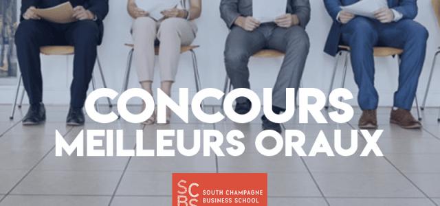 Concours des meilleurs oraux 2019 – SCBS