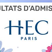 Résultats d'admission HEC 2019