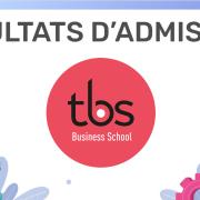 Résultats d'admission TBS 2020