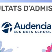 Résultats d'admission Audencia 2019