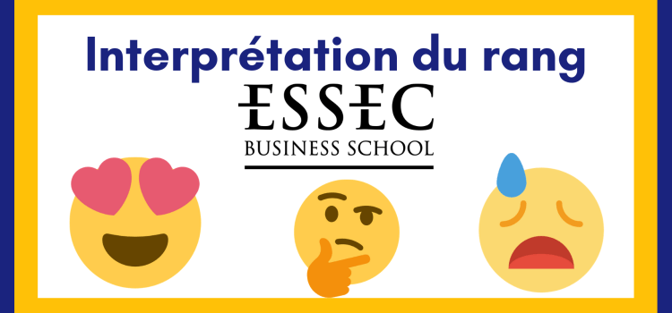Interpréter son rang ESSEC 2019