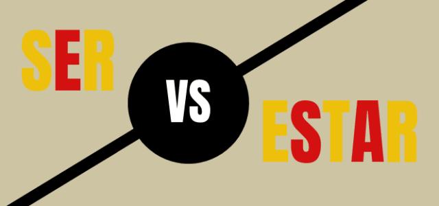 Choisir entre SER et ESTAR
