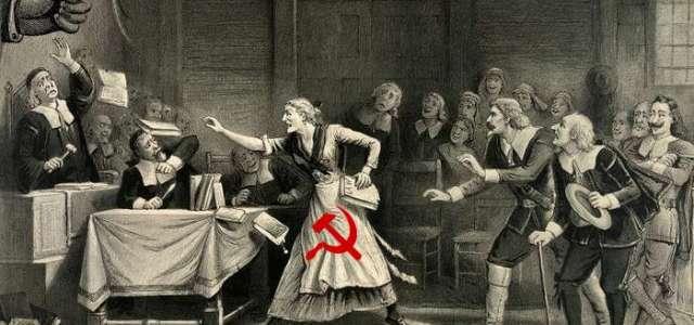 The Crucible, réécriture du mythe de la chasse aux sorcières contre le maccarthysme aux États-Unis