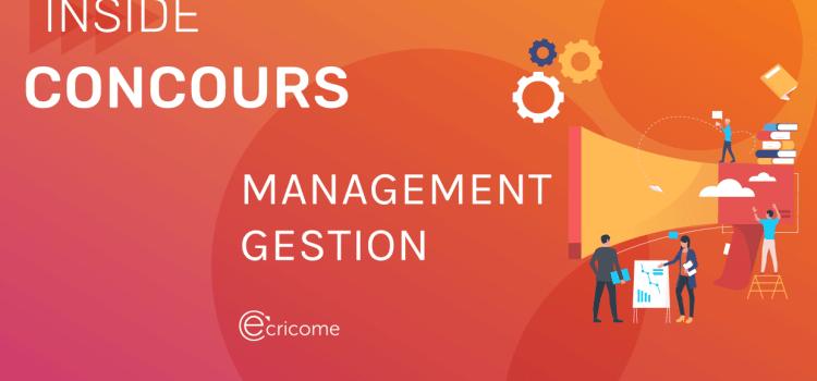 Management-gestion Ecricome 2021 – Analyse du sujet