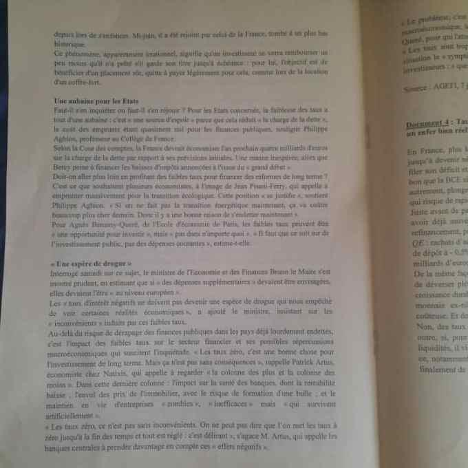 Eco droit ESSEC